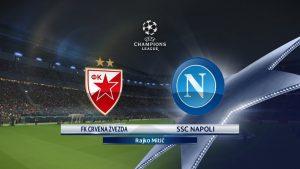 Champions League Red Star vs Napoli