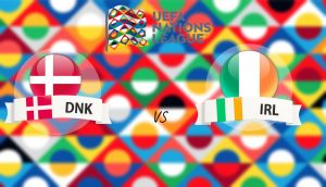 UEFA Nations League Denmark vs Ireland