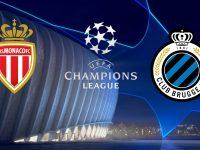 Monaco vs Club Brugge Champions League 6/11/2018