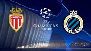 Champions League Monaco vs Club Brugge